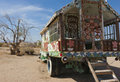 Salvation Mountain, Niland, California Stock Photo