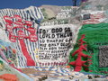 Salvation Mountain, Niland California Stock Images