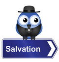 Salvation sign Royalty Free Stock Photography