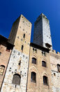 Salvucci Tower in San Gimignano, Tuscany Stock Photography