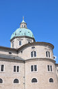 Salzburg cathedral colorful and crisp image of Royalty Free Stock Photos