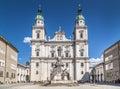 Salzburg Cathedral (Salzburger Dom) at Domplatz, Austria