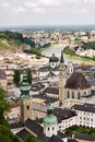 Salzburg panorama Royalty Free Stock Images