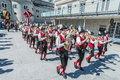 Salzburger dult festzug at salzburg austria may parade celebration on may in Stock Photo