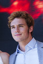 Sam claflin cannes france may attends the hunger games mockingjay part photocall at the th annual cannes film festival on may in Royalty Free Stock Photos