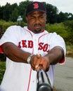 Sam horn boston red sox former slugger Royalty Free Stock Photos
