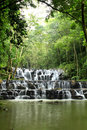 Sam Lan waterfall Stock Photography