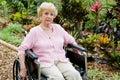 Sam osób niepełnosprawnych Zdjęcie Stock