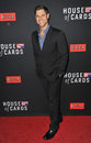 Sam page los angeles ca february at the season two premiere of his netflix series house of cards at the directors guild theatre Royalty Free Stock Photos