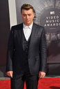 Sam smith los angeles ca august at the mtv video music awards at the forum los angeles Stock Images