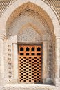 The Samanid mausoleum is located in the historical urban nucleus of the city of Bukhara. Royalty Free Stock Photo