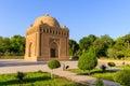 The Samanid mausoleum in the Park, Bukhara, Uzbekistan. UNESCO world Heritage Royalty Free Stock Photo