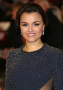 Samantha barks arriving at the world premiere of les miserables held at the odeon empire leicester square london picture by henry Stock Photo