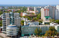 Samara city, Russia, view from height on city Stock Image