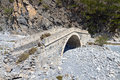 Samaria gorge at Crete island in Greece Stock Photos