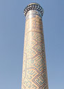 Samarkand Bibi-Khanim the Minaret September 2007
