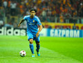 Sami khedira of real madrid in action during the champions league group b soccer match against galatasaray at turk telekom arena Stock Image