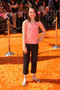 Sammi hanratty at the world premiere of dr seuss horton hears a who mann village westwood ca Royalty Free Stock Image