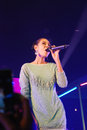 Sammy bantita cowell actress from channel in concert thailand Stock Photos