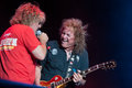 Sammy hagar lincoln ca september r and dave manaketti perform in support of s forty decades of rock tour at thunder Royalty Free Stock Images