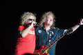 Sammy hagar lincoln ca september r and dave manaketti perform in support of s forty decades of rock tour at thunder Stock Image
