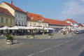 Samobor near zagreb touristic city in northwest croatia europe main square Royalty Free Stock Image
