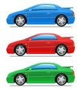 Samochodowe ikony bawją się wektor Obrazy Stock