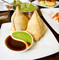 Samosa Stock Photo