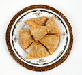 Samosas Royalty Free Stock Photo