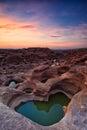 令人惊讶的湄公河岩石sampanbok 免版税库存照片