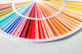 Sample Colors Catalog. Color Palette Guide Royalty Free Stock Photo