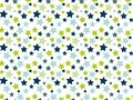 Sample pattern background with stars on white background