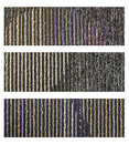 Samples of collection carpet on a white Stock Images