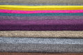 Samples of furniture fabrics Royalty Free Stock Photo