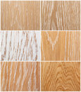 Samples of oak flooring Royalty Free Stock Images