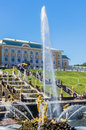 Samson Fountain In Peterhof, R...