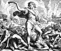 Samson Kills the Philistines Royalty Free Stock Photo