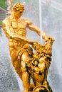 Samson statue Stock Image