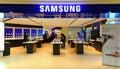Samsung electronics store hong kong Royalty Free Stock Photo