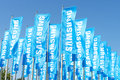 Samsung Flags Royalty Free Stock Photo