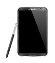 SAMSUNG GALAXY NOTE II Royalty Free Stock Photography