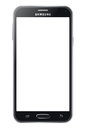 Samsung galaxy s the latest template illustration on white background Royalty Free Stock Image