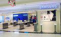 Samsung shop in hong kong located metro city plaza is a south korean multinational conglomerate company headquartered Stock Images