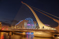 Samuel Beckett bridge. Dublin. Ireland Royalty Free Stock Photo