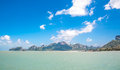 Samui island of clear water sky fresh and beautiful Stock Photography