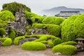 Samurai garden in Chiran Royalty Free Stock Photo