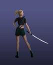 The Samurai girl