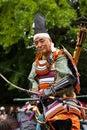 Samurai at Jidai Matsuri festival, Kyoto, Japan Royalty Free Stock Photo