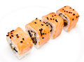 Samurai rolls Royalty Free Stock Photo