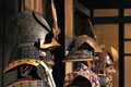Samurai armour Royalty Free Stock Photo